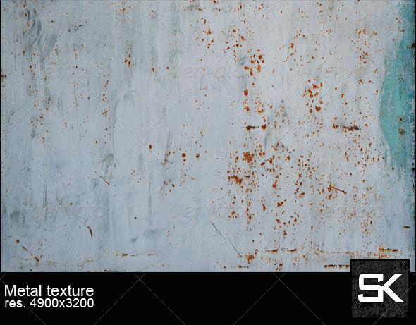 Painted Rusty Metal - Metal Textures