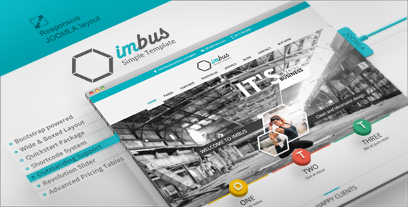 Imbus – Responsive Joomla Template