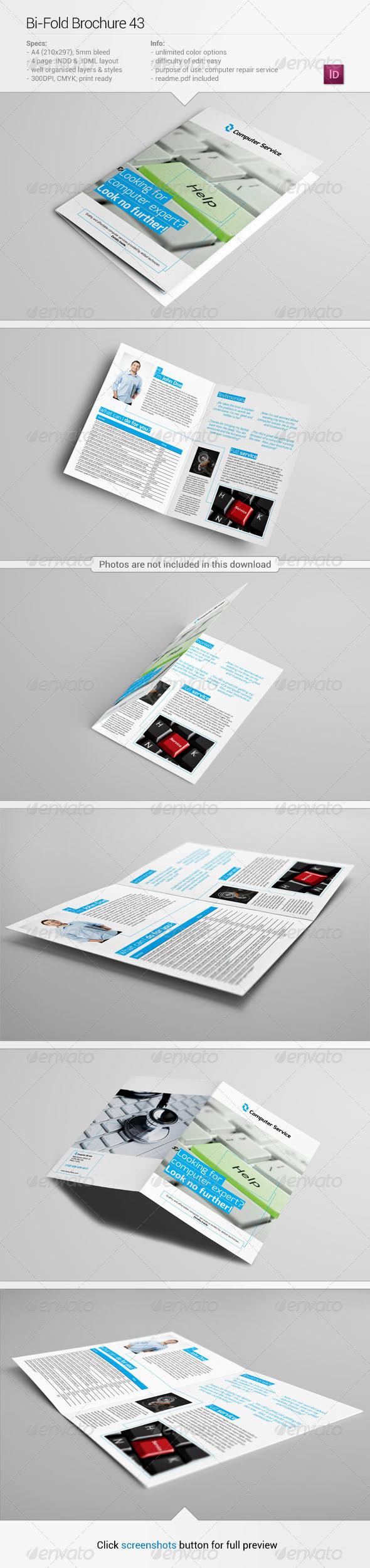 Bi-Fold Brochure 43 - Informational Brochures