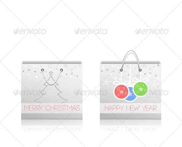Paper Shopping Bags - Retail Commercial / Shopping