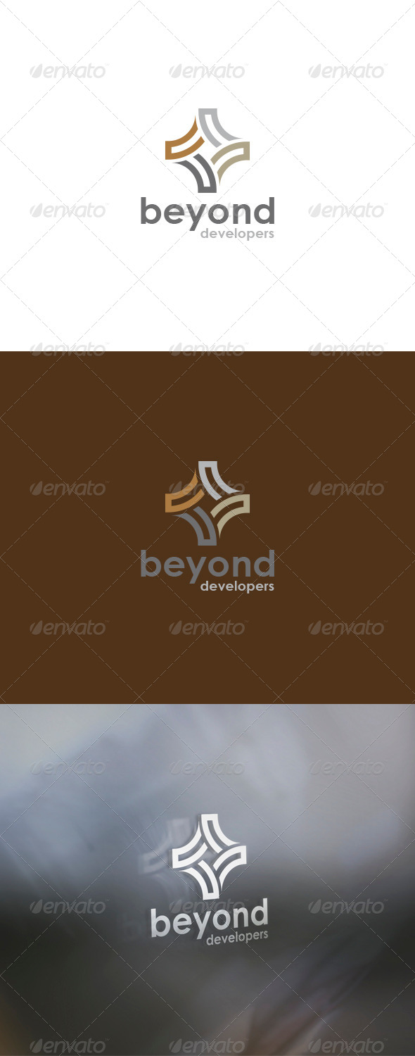 Beyond Logo - Vector Abstract
