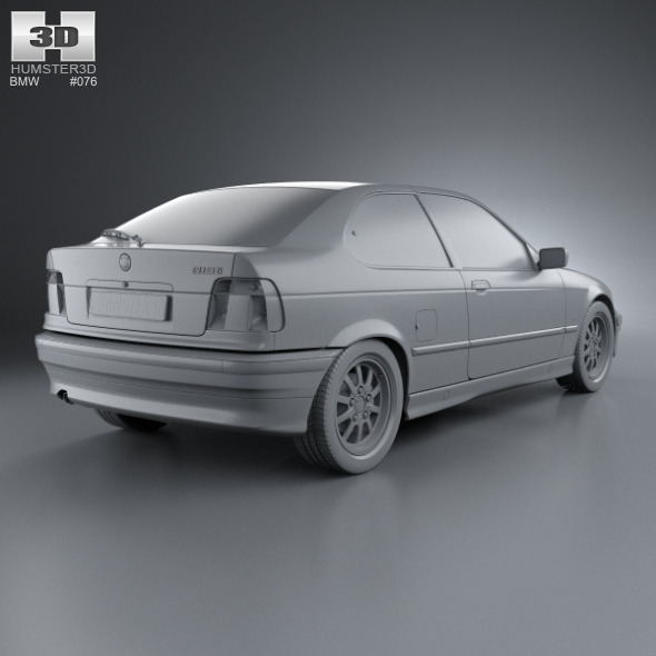 BMW 3 Series (E36) Compact 1994 By Humster3d