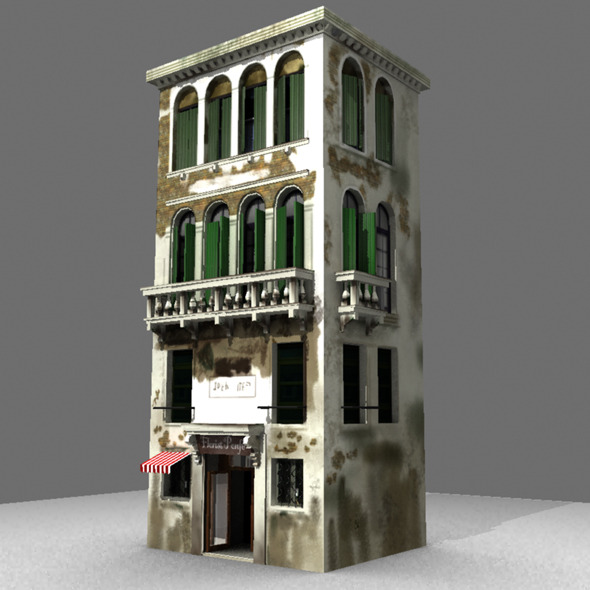 Venice Building - 3DOcean Item for Sale