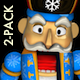 Nutcracker Super Dancer - Pack of 2 - VideoHive Item for Sale