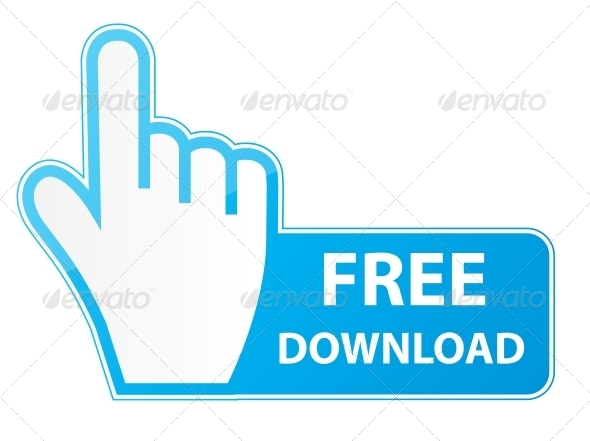 Mouse Hand Cursor on Free Download Button - Web Elements Vectors