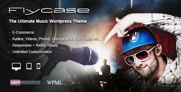 Flycase – Complete Music Solution for WordPress