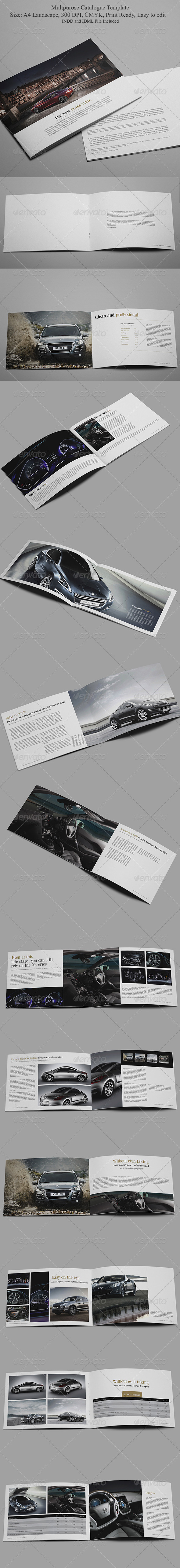 Multipurpose Catalogue Template - Catalogs Brochures