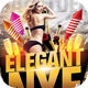 Elegant Nye Flyer Template - GraphicRiver Item for Sale