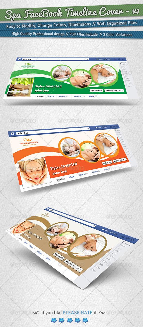 Spa Facebook Timeline Cover | Volume 1 - Facebook Timeline Covers Social Media