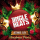 Jingle Beats Christmas Party Flyer Template - GraphicRiver Item for Sale
