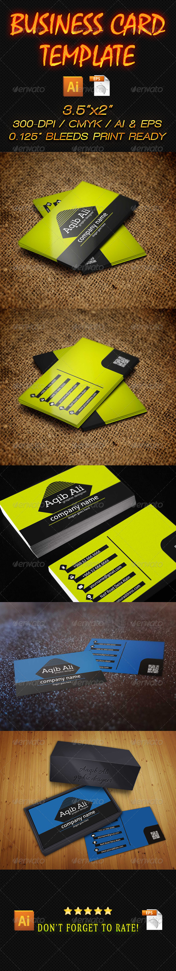 Business Card 16 - Business Cards Print Templates