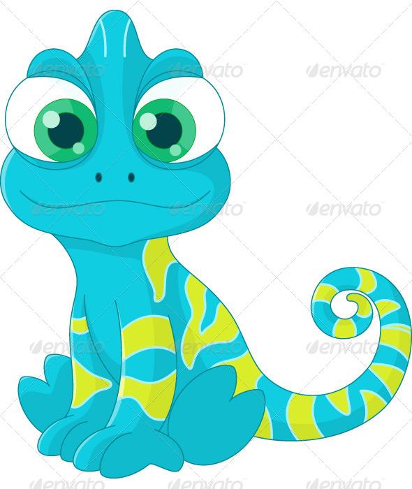 Chameleon - Animals Characters