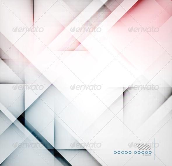 Geometric Diamond Shape Abstract Background - Backgrounds Business