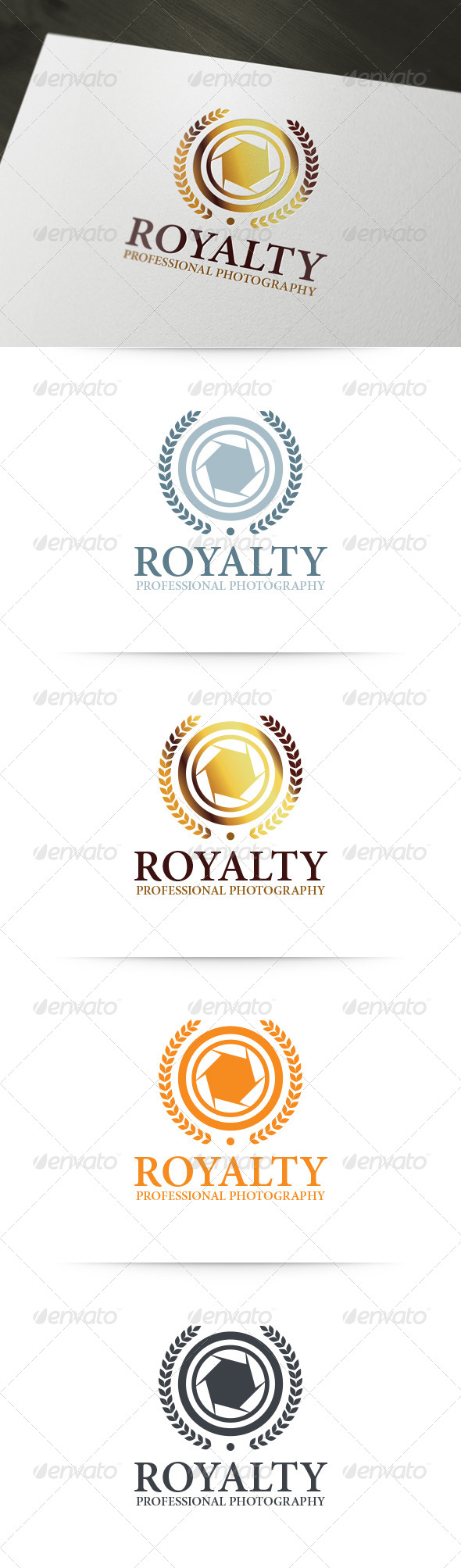 Royalty - Photography Logo - Symbols Logo Templates