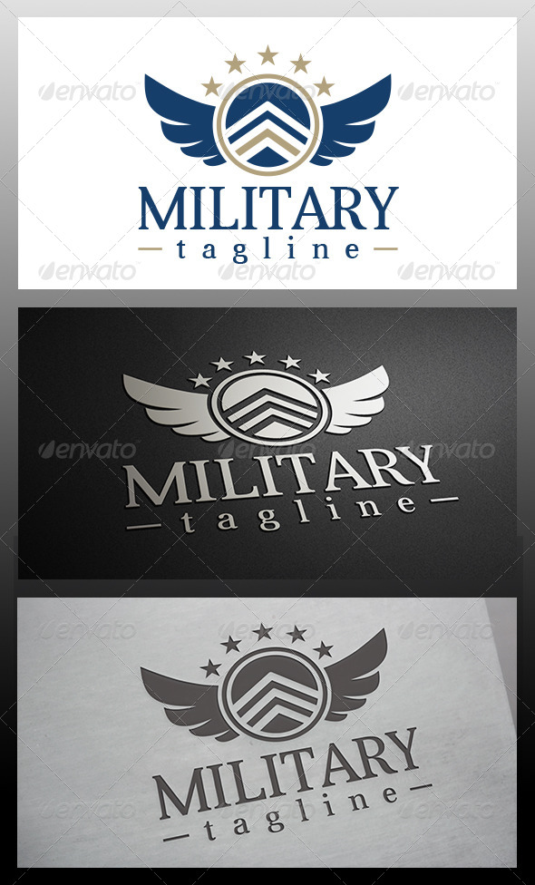 Military Logo - Crests Logo Templates