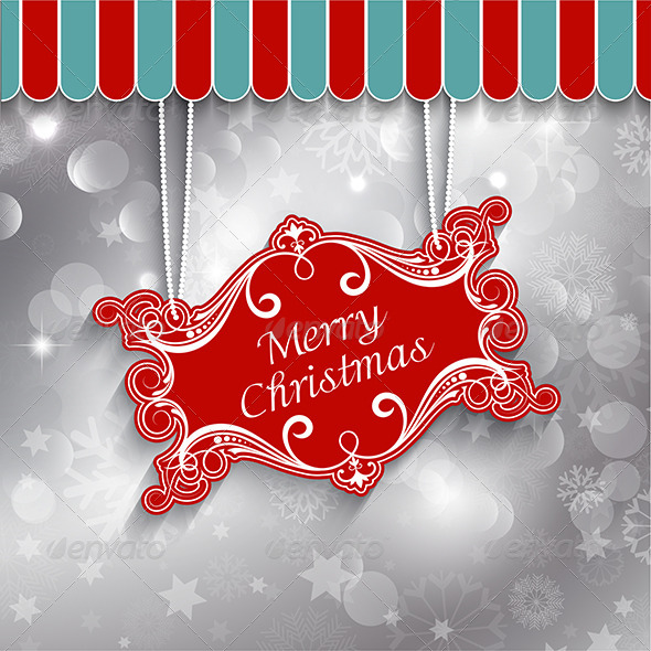 Christmas Sign Background - Christmas Seasons/Holidays