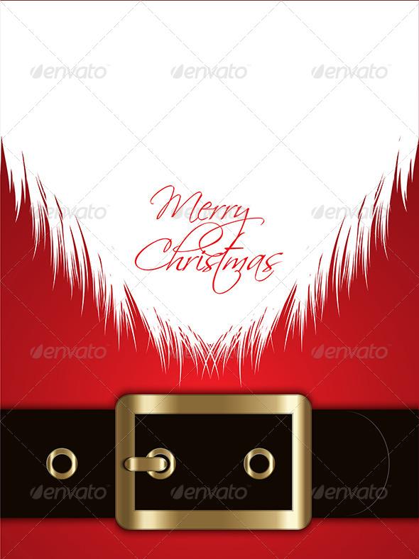 Christmas Santa Background - Christmas Seasons/Holidays