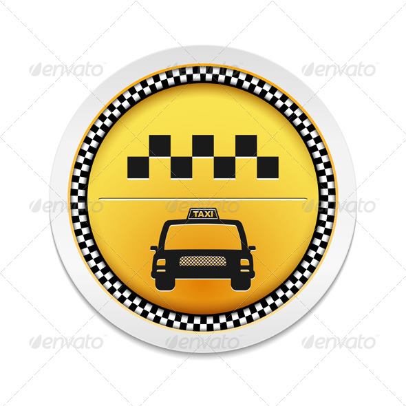 Taxi Icon - Web Elements Vectors