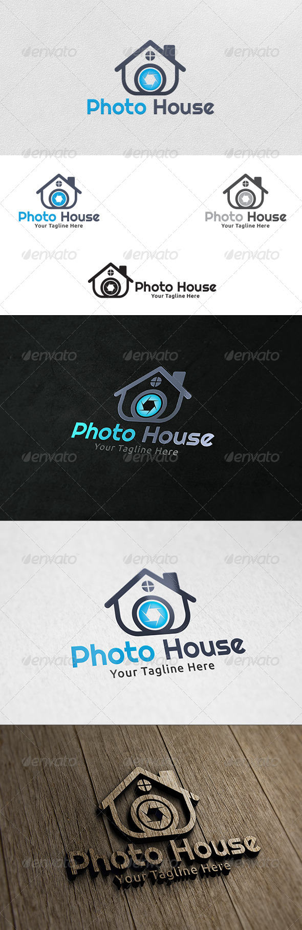 Photo House - Logo Template - Buildings Logo Templates