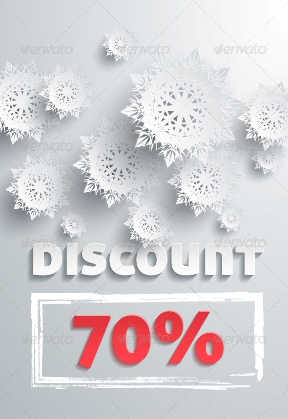 Discount and Snowflakes - Retail Commercial / Shopping