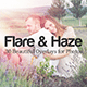 Flare & Haze: 30 Overlays for Photos - GraphicRiver Item for Sale