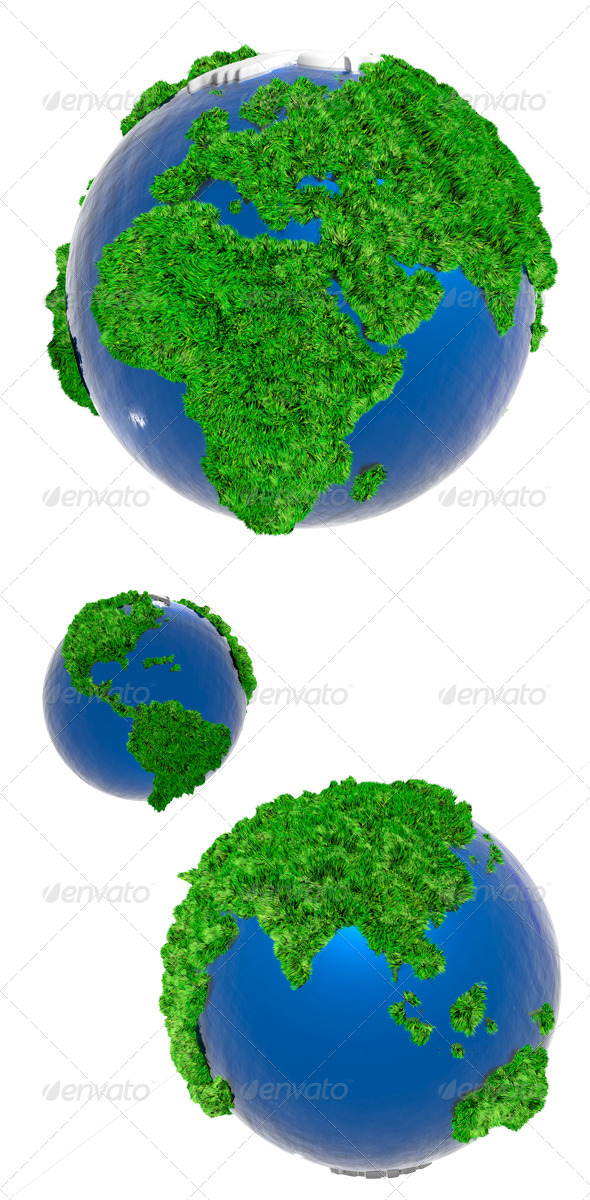 Globe - Miscellaneous 3D Renders