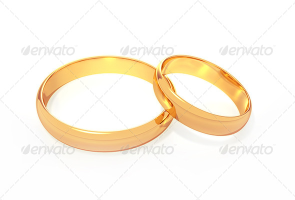Wedding Rings - Objects 3D Renders
