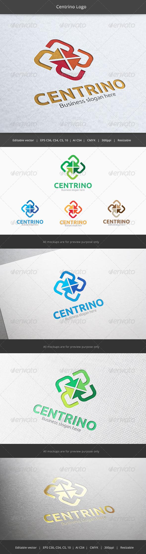 Centrino Center Logo - Vector Abstract