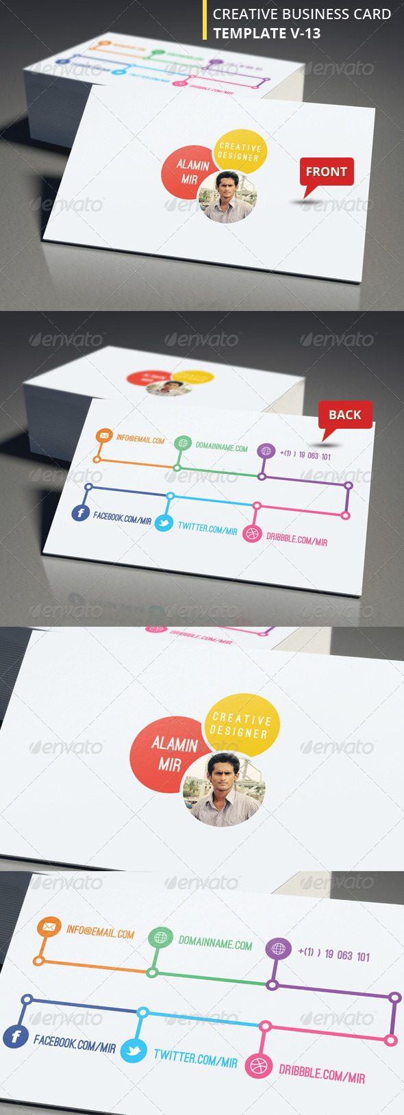 Creative Business Card V 13 - Creative Business Cards