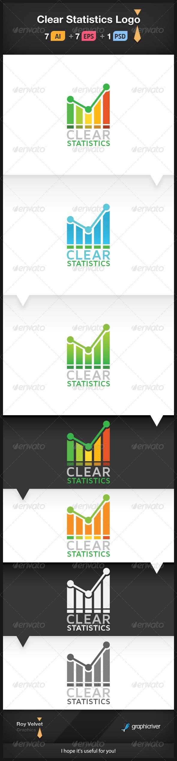 Clear Statistics Logo - Symbols Logo Templates