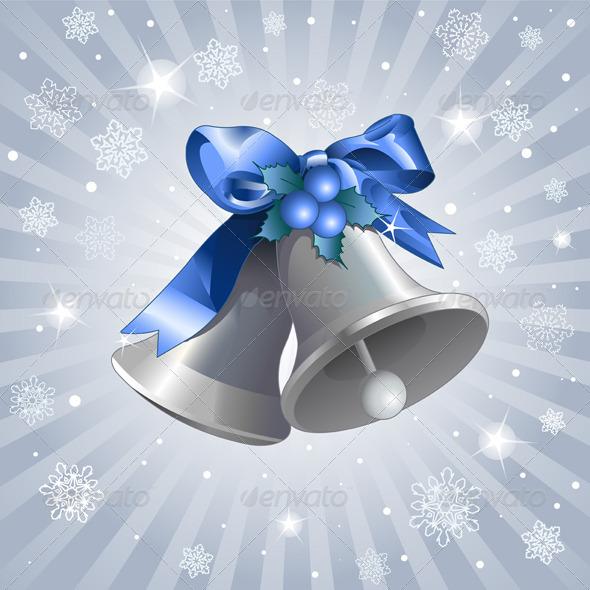 Christmas Bells Background - Christmas Seasons/Holidays