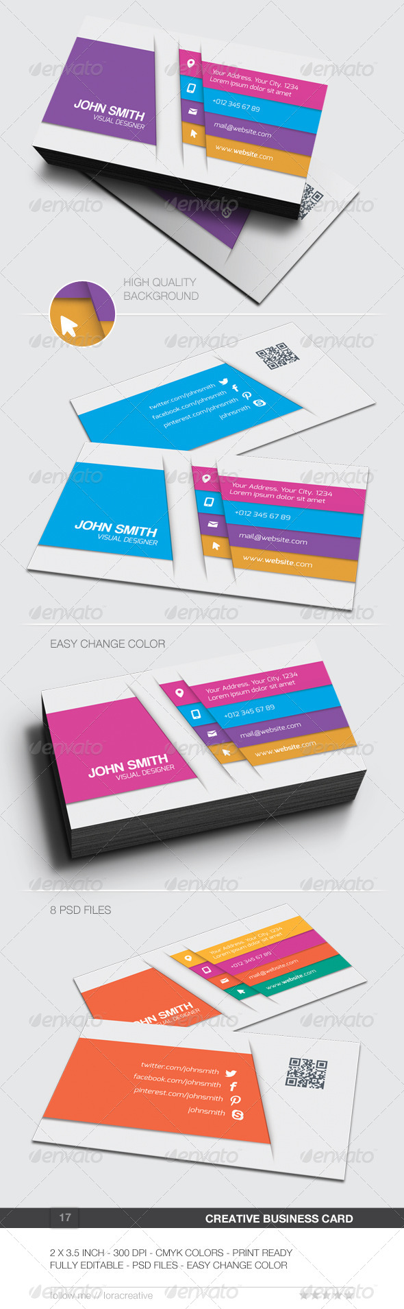 Creative Business Card - 17 - Creative Business Cards