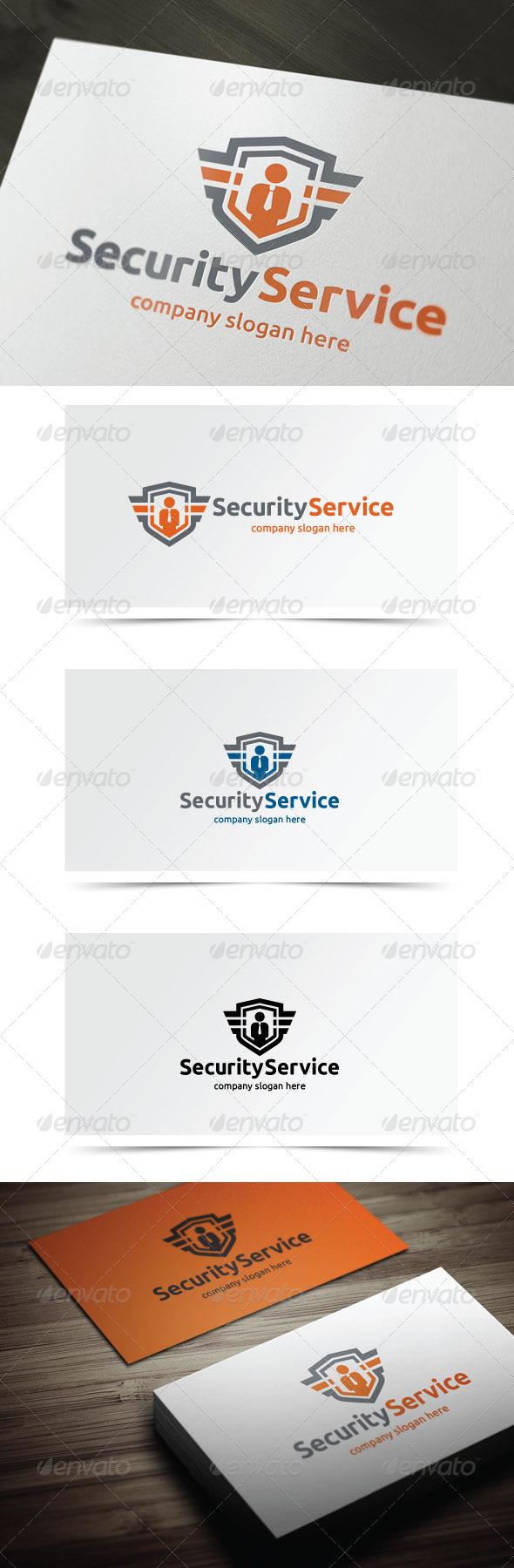 Security Service - Symbols Logo Templates