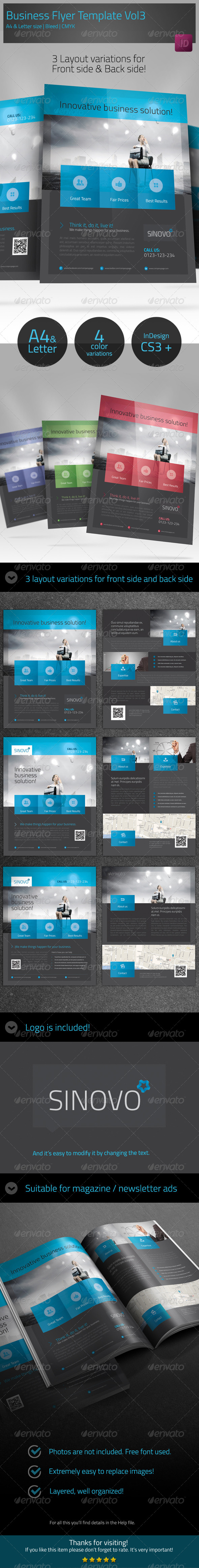 Business Corporate Flyer Template vol3 - Flyers Print Templates
