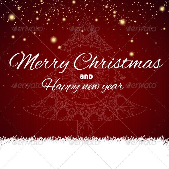 Merry Christmas Tree - Christmas Seasons/Holidays