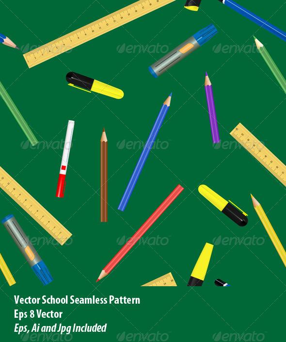 School Supplies - Conceptual Vectors