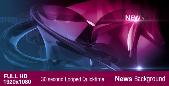 Looped News Background by template-fx | VideoHive