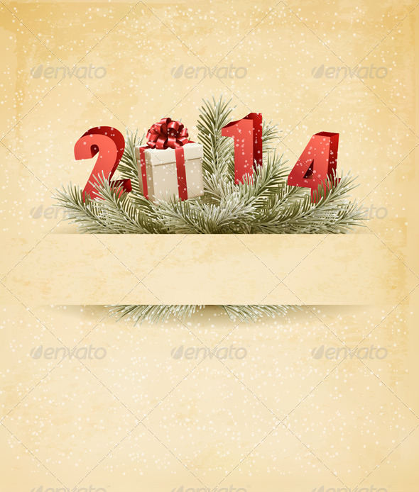 Happy New Year Template - New Year Seasons/Holidays