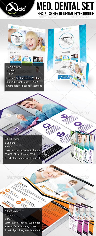 Medical Dental Set 2 - Corporate Flyers