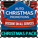 Sales and Services Christmas Promotions Pack - GraphicRiver Item for Sale