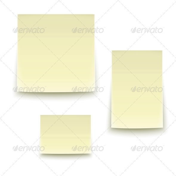 Paper Stickers. - Miscellaneous Vectors