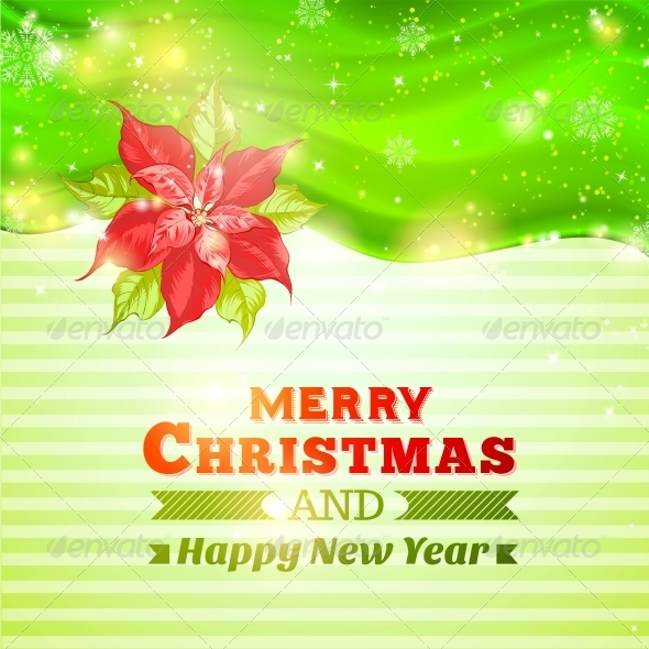Christmas and New Year Greeting Card. - Christmas Seasons/Holidays