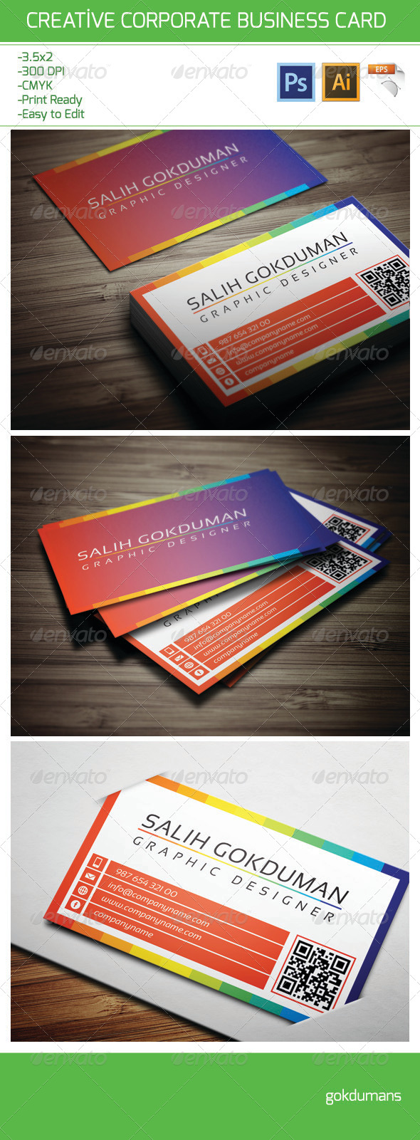 Corporate Business Card 18 - Corporate Business Cards