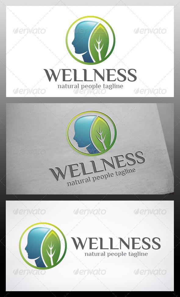 Wellness Logo - Nature Logo Templates