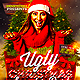 Ugly Christmas Sweater Party Flyer Template - GraphicRiver Item for Sale
