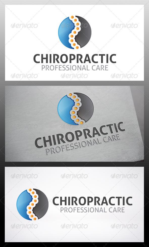 Chiropractic Logo - Vector Abstract
