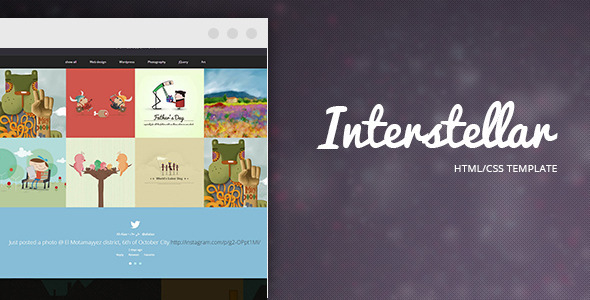 Interstellar - Multi-purpose HTML Template - Creative Site Templates