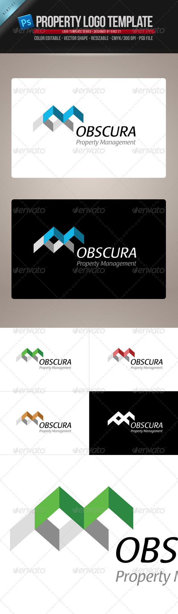 Property-Real Estate Logo Template