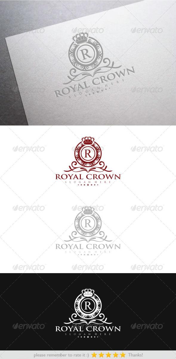 Royal Crown - Vector Abstract