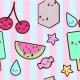 Kawaii Pattern - GraphicRiver Item for Sale